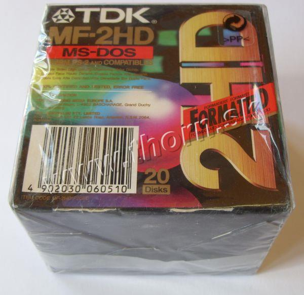 Diskety TDK 20ks